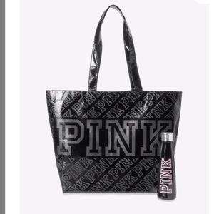 NIP VS PINK Reusable Tote and Water Bottle